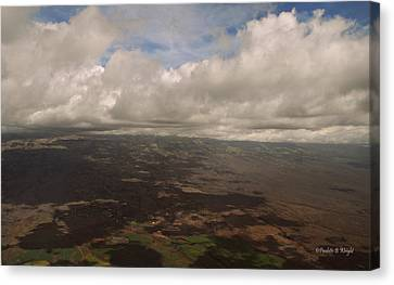Maui Beneath The Clouds Canvas Print by Paulette B Wright