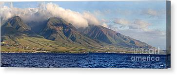 Maui Pano Canvas Print by Scott Pellegrin