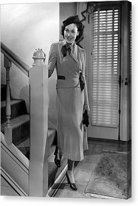 Maureen Osullivan, Mgm Portrait Canvas Print by Everett