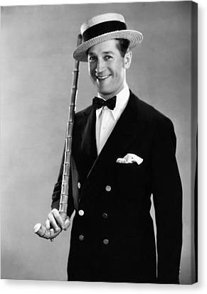 Maurice Chevalier, 1930 Canvas Print by Everett