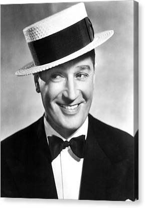 Maurice Chevalier, 1930s Canvas Print by Everett