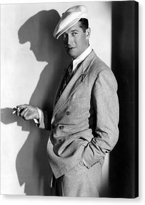Maurice Chevalier, Ca. 1930s Canvas Print by Everett