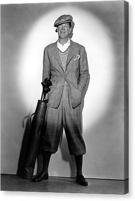 Maurice Chevalier, Ca. Early 1930s Canvas Print by Everett