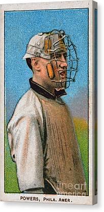 Maurice Riley Powers Canvas Print by Granger