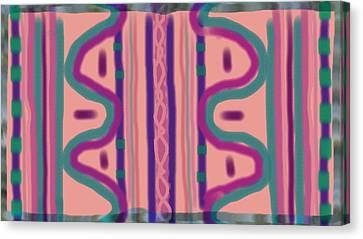 Maya Canvas Print by Rosana Ortiz