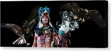 Mayan Spirit Canvas Print by Elizabeth Hart