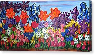 Maya's Garden Canvas Print