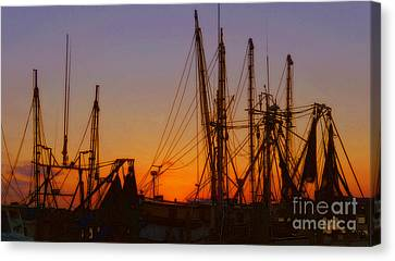 Mayport Canvas Print by Lydia Holly