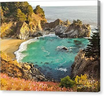 Mc Way Falls Cove Canvas Print