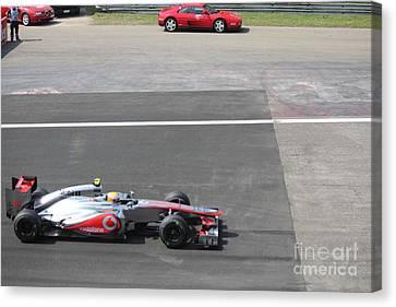 Mclaren - Lewis Hamilton Canvas Print