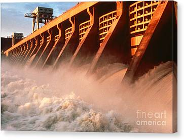 Mcnary Dam Canvas Print by DOE/Science Source