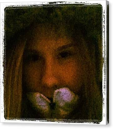 Edit Canvas Print - #me #edit #pretty #beautiful #beauty by Jamiee Spenncer