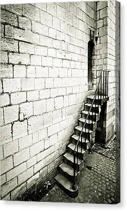 Medieval Staircase Canvas Print