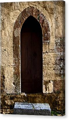 Medieval Welcome Canvas Print by Cecil Fuselier