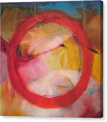 Meditation No 11 Canvas Print by Zangmo Alexander