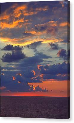 Mediterranean Sky Canvas Print by Mark Greenberg