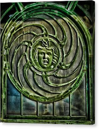 Medusa Canvas Print by Colleen Kammerer