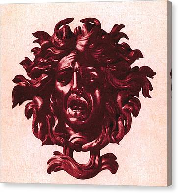 Medusa Head Canvas Print by Photo Researchers