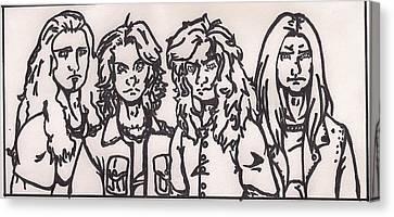 Megadeth Canvas Print