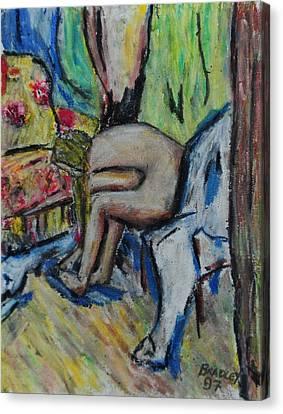 Mellisa 97 Canvas Print by Bradley Bishko