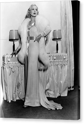 Melody In Spring, Ann Sothern, 1934 Canvas Print by Everett