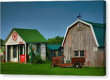 Mementos From The Past I Canvas Print by Steven Ainsworth
