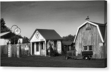 Mementos From The Past II Canvas Print by Steven Ainsworth