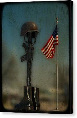 Memorial Canvas Print by Brady D Hebert