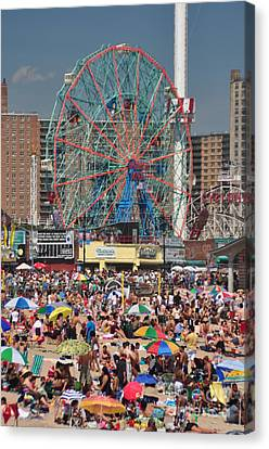Memorial Day Weekend Canvas Print by Mark Gilman