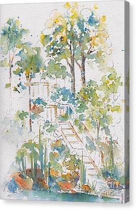 Memories Lucien Lake Canvas Print by Pat Katz