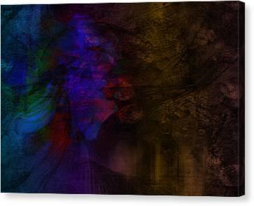 Memories Of Love Canvas Print by Susan  Solak