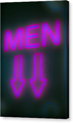 Men Canvas Print by Richard Piper