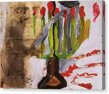 Canvas Print - Menorah by Iris Gill
