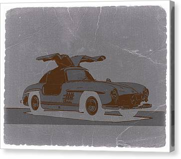 Mercedes Benz 300 Canvas Print by Naxart Studio