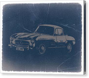 Mercedes Benz 300 Sl Canvas Print