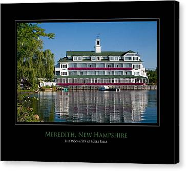 Meredith Inn Canvas Print by Jim McDonald Photography