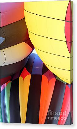 Merging Hues Canvas Print by Alycia Christine