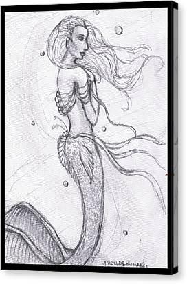 Mermaid Aiesy Canvas Print
