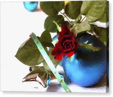 Merry Christmas Canvas Print by Design Windmill