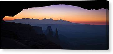 Mesa Dawn Canvas Print by Andrew Soundarajan