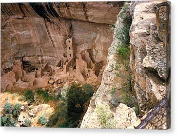 Mesa Verde One Canvas Print by Louis Nugent