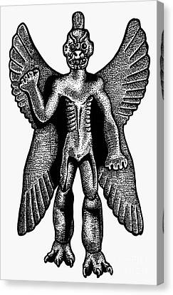 Mesopotamian Demon Canvas Print by Granger