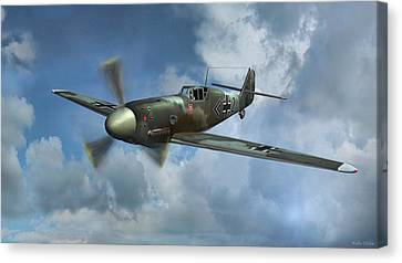 Messerschmitt Bf-109 Canvas Print