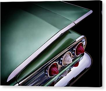 Metalic Green Impala Wing Vingage 1960 Canvas Print