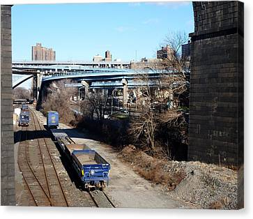 Metro North Canvas Print by Steve Breslow