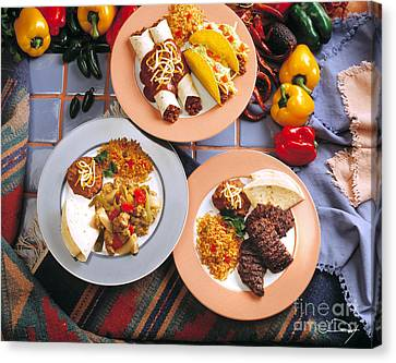 Mexican Night Canvas Print by Vance Fox