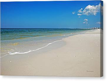 Canvas Print featuring the photograph Mexico Beach by Kay Lovingood