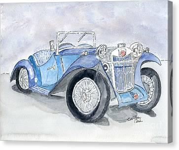 Mg 1926 Canvas Print