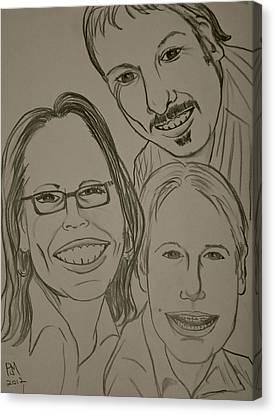 Mi Familia Canvas Print