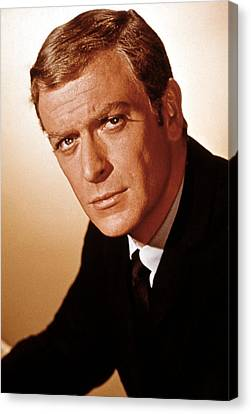 Michael Caine, 1960s Canvas Print by Everett